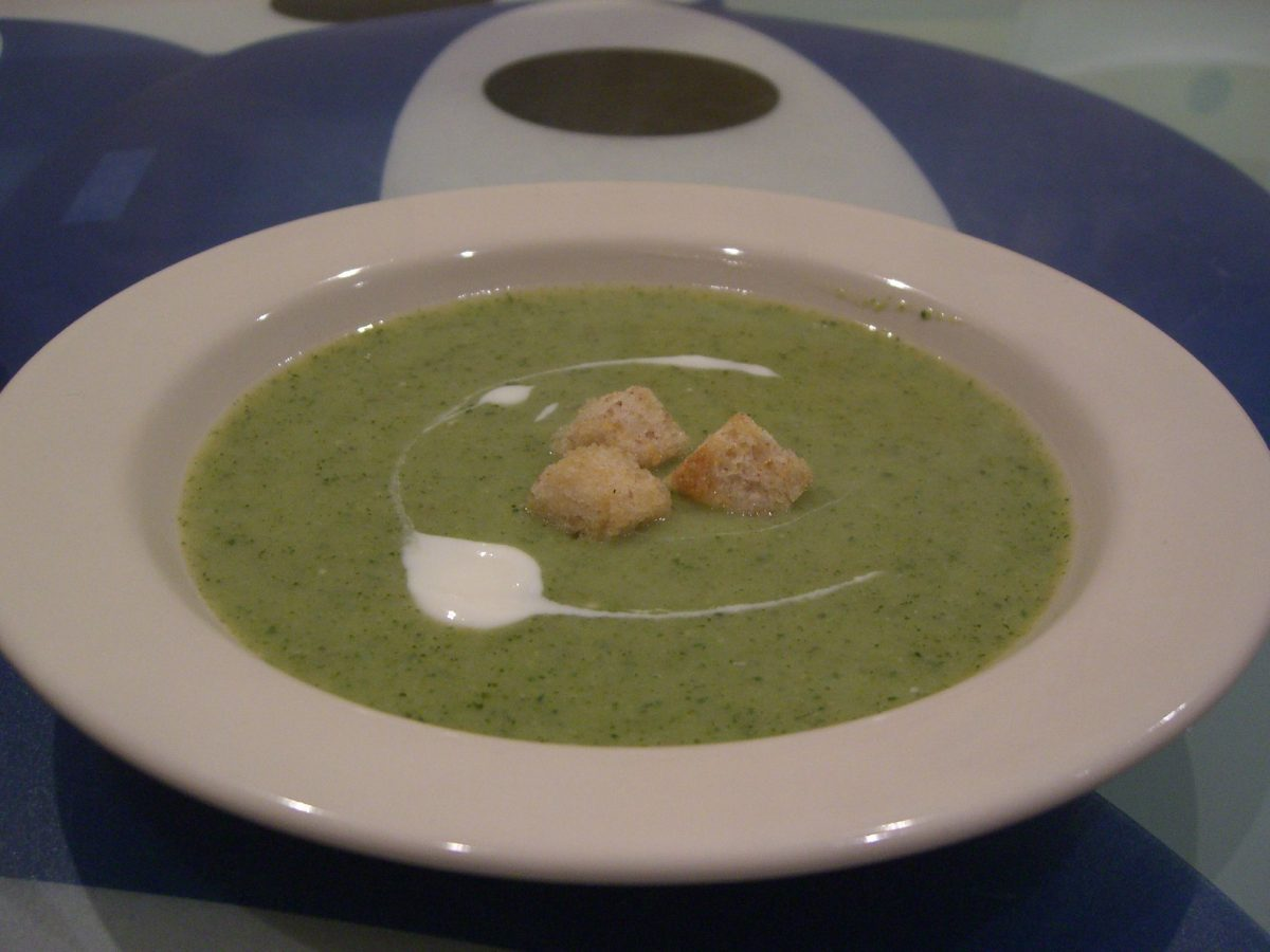 Recipe Of The Week – Broccoli Soup