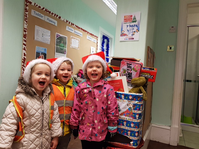 Forth One Mission Christmas – The Big Drop Off!