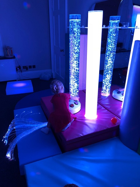 Introducing Our New Sensory Room!
