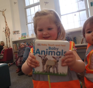 Our Toddlers Are Learning All About Animals