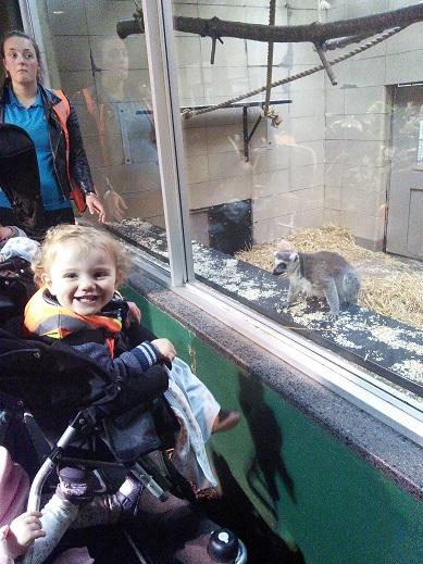 The Little Ones Loved Edinburgh Zoo