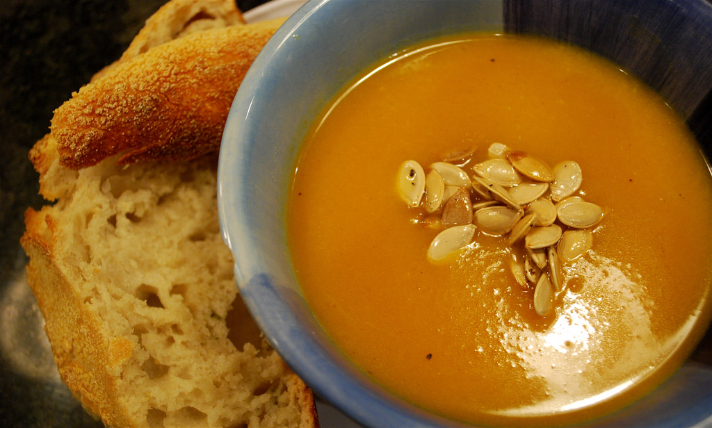 Recipe Of The Week Is Back – Butternut squash, chilli and coconut soup