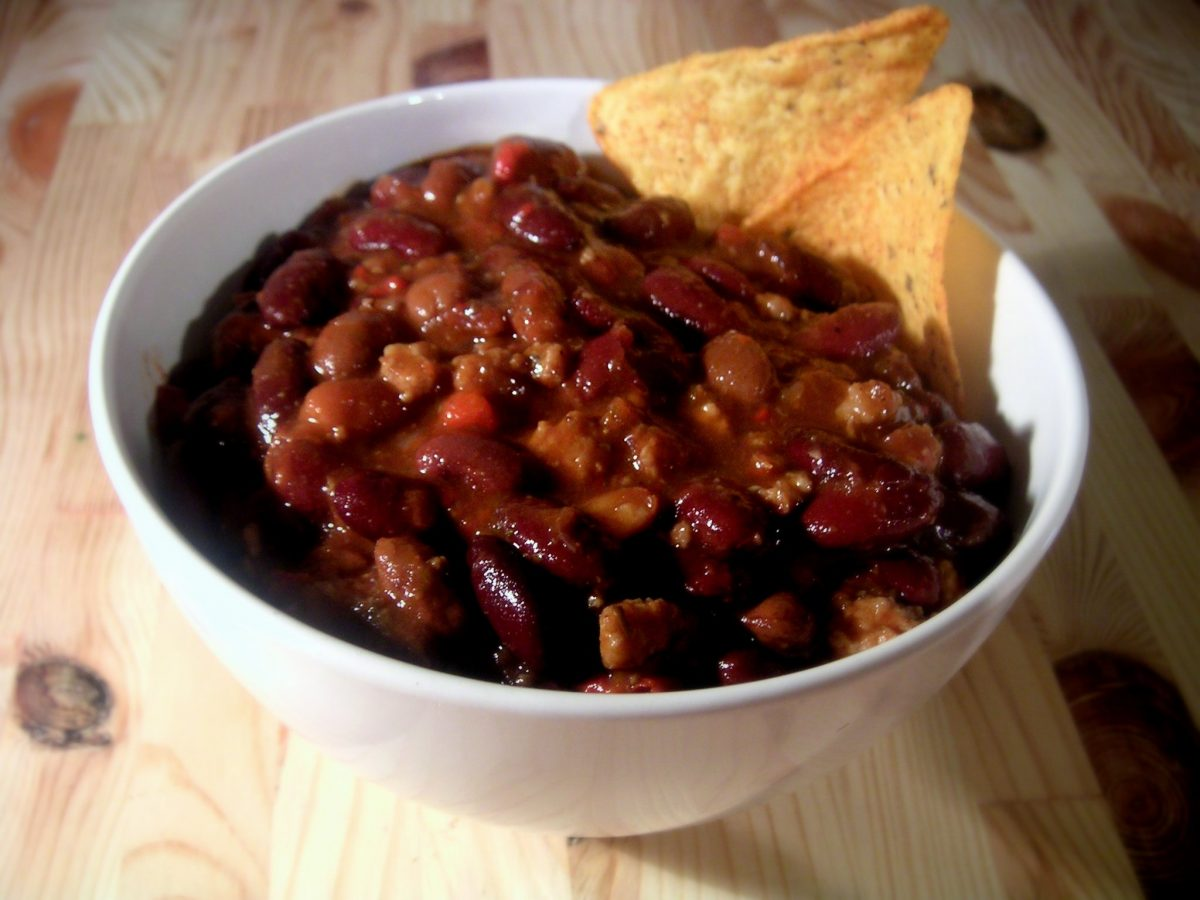 Lockdown Recipes – Beef Chilli