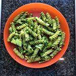 Weekly Recipes - Pea and Pesto Pasta