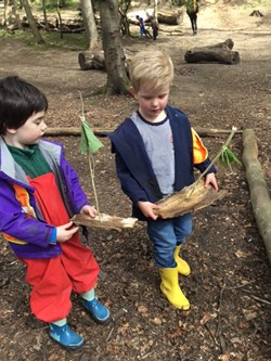 Forest Schools – Sailing Away