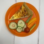 Weekly Recipes - Cheese and Onion Quiche