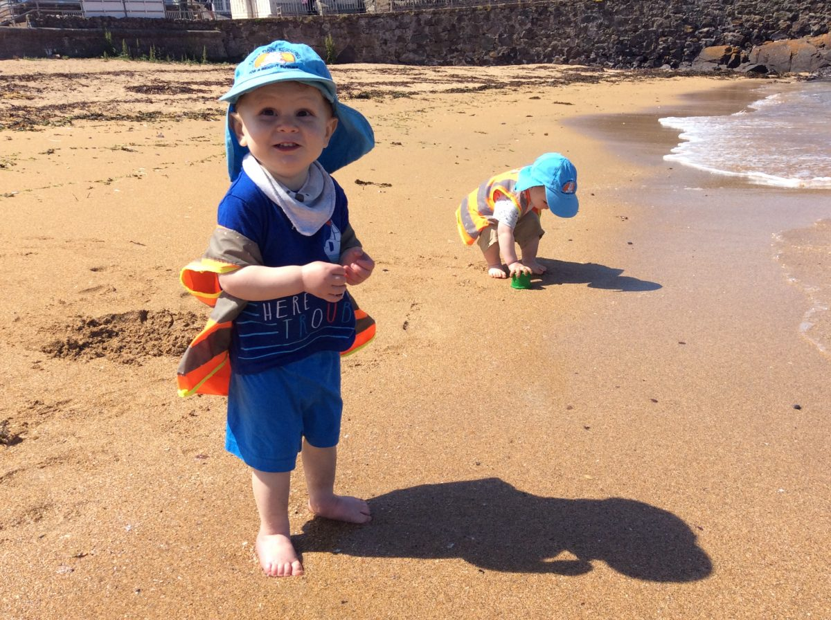 Babies and Tweenies at North Berwick